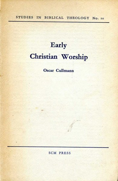 Image for Early Christian Worship