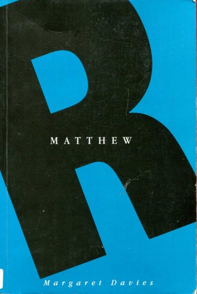 Image for Matthew (Readings: A New Biblical Commentary)