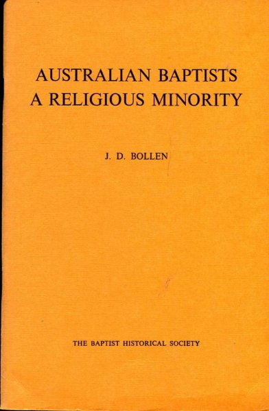 Image for Australian Baptists - A Religious Minority