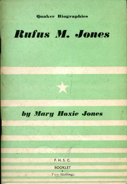 Image for Rufus M Jones