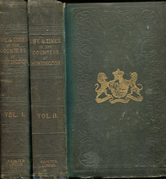 Image for The Life and Letters of Selina Countess of Huntingdon (two volumes)