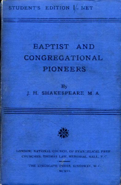 Image for Baptist and Congregational Pioneers