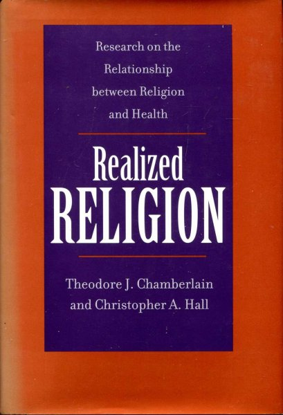 Image for Realized Religion - Research on the Relationship between Religion and Health