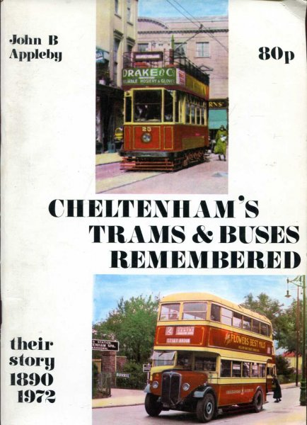 Image for Cheltenham's Trams &  Buses Remembered - their story 1890-1972