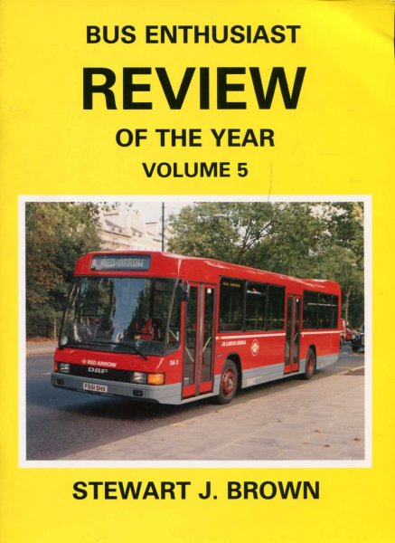 Image for Bus Enthusiast Review of the Year Volume 5 Review of 1989