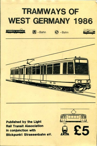 Image for The Tramways of West Germany