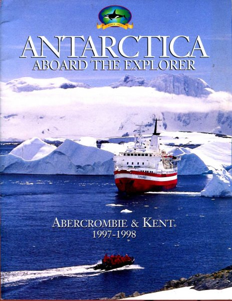 Image for Antarctica aboard The Explorer 1997-1998
