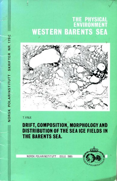 Image for Physical environment Western Barents Sea: drift, composition, morphology and distribution of the sea ice fields in the Barents Sea