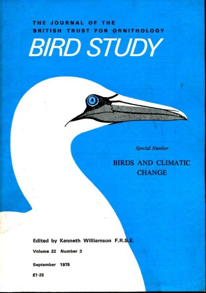 Image for Bird Study volume 22, No 3: Birds and Climatic Change