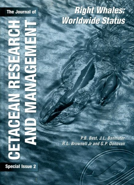Image for The Journal of Cetacean Research and Management Special Issue 2: Right Wales: Worldwide Status