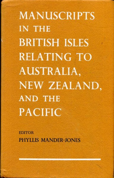 Image for Manuscripts in the British Isles Relating to Australia