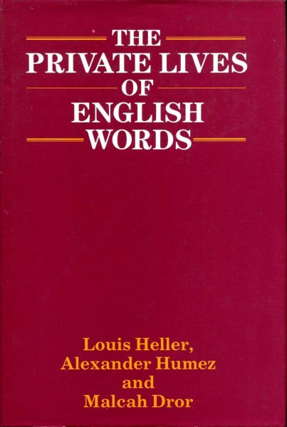 Image for Private Life of English Words