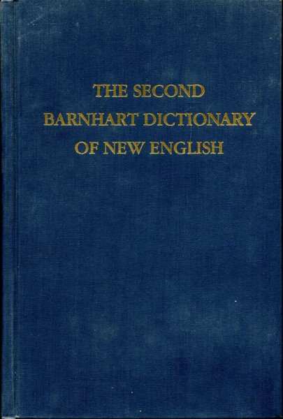 Image for The Second Barnhart Dictionary of New English