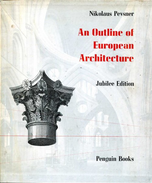 Image for An Outline of European Architecture - Jubilee Edition