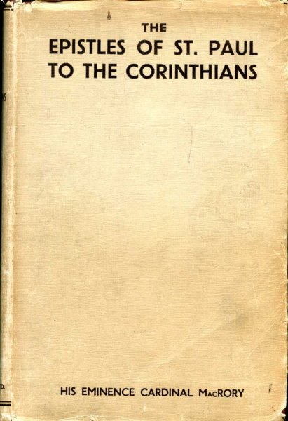 Image for The Epistles of St Paul to the Corinthians an introduction and commentary