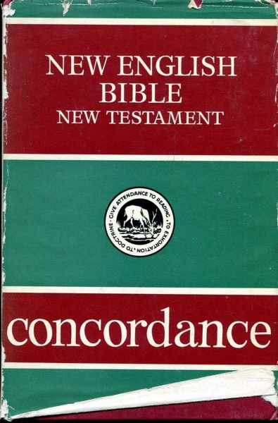 Image for The New English Bible New Testament Concordance