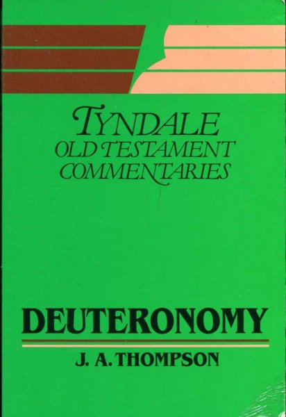 Image for Deuteronomy : An Introduction and Commentary (Tyndale Old Testament Commentary Series)