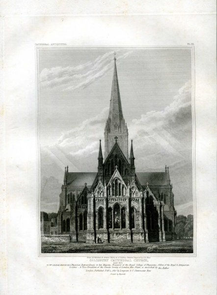 Image for The History and Antiquities of the Cathedral Church of Salisbury
