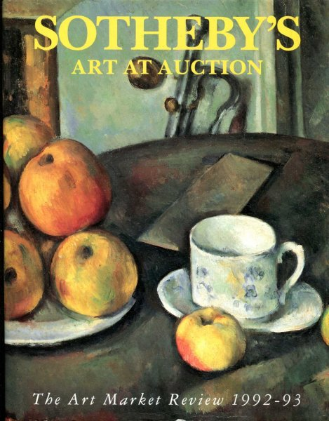 Image for Sotheby's Art at Auction 1992-93 : The Art Market Review