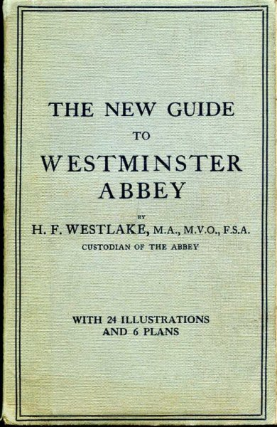 Image for The New Guide to Westminster Abbey with Historical Introduction