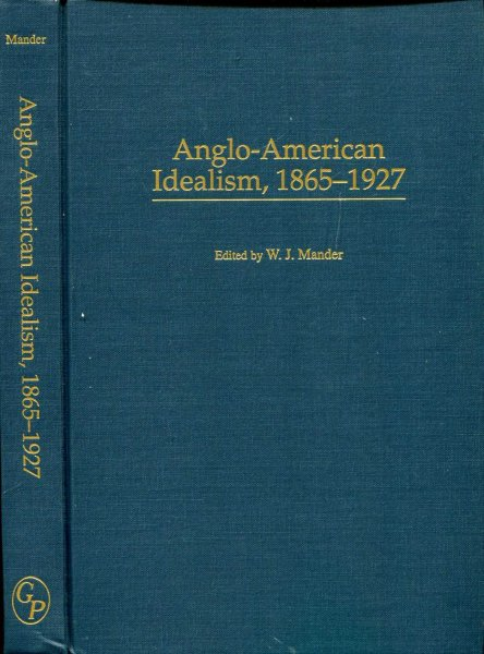 Image for Anglo-American Idealism, 1865-1927
