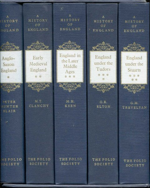Image for A History of England (five volumes) Anglo-Saxon England to England under the Stuarts