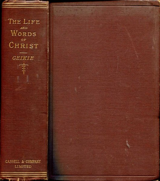 Image for The Life and Words of Christ