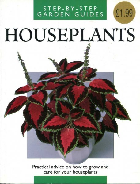 Image for Houseplants : Step by Step Garden Guides