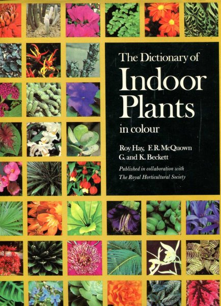 Image for The Dictionary of Indoor Plants in Colour