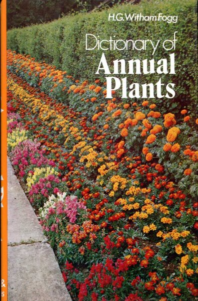 Image for Dictionary of Annual Plants