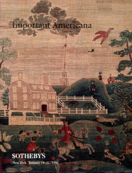 Image for Important Americana Sale 6800 January 19-21, 1996