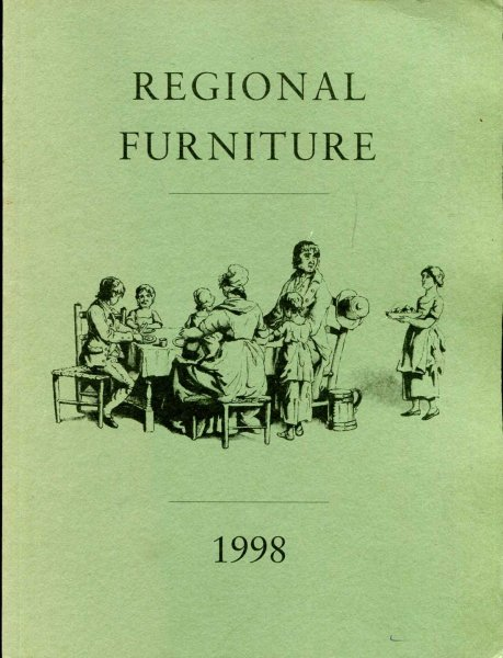 Image for Regional Furniture : The Journal of the Regional Furniture Society volume XII 1998