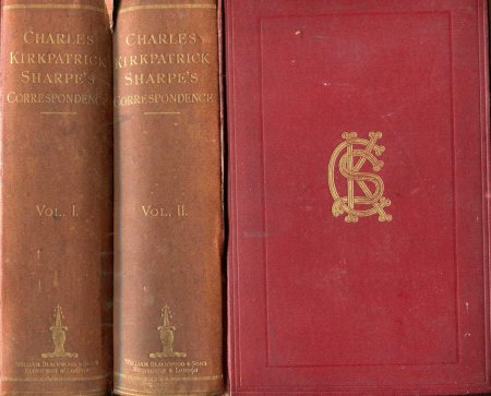 Image for Letters from and to Charles Kirkpatrick Sharpe, Esq (two volumes)