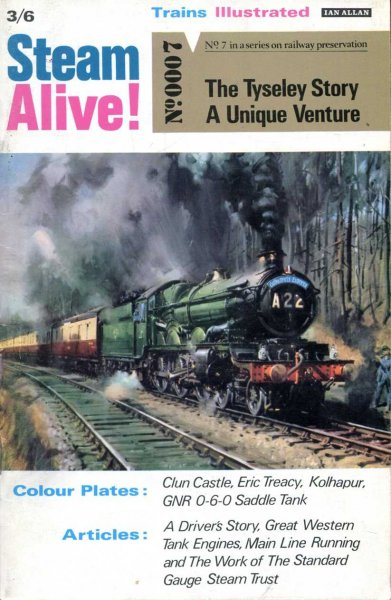 Image for Steam Alive! Trains Illustrated No 7