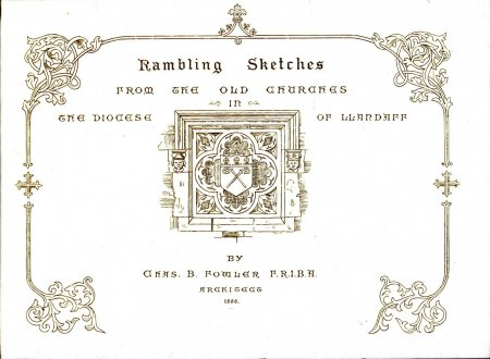 Image for Rambling Sketches from the Old Churches in the Diocese of Llandaff