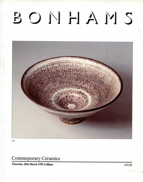 Image for Contemporary Ceramics, Thursday 26th March 1992