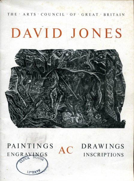 Image for Dvid Jones - An Exhibition of Paintings, Drawings and Engravings