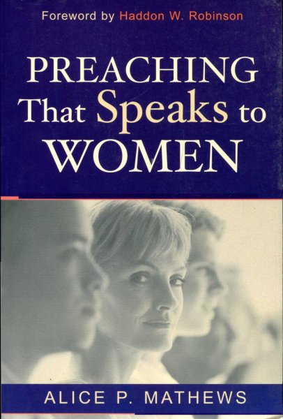 Image for Preaching that speaks to women