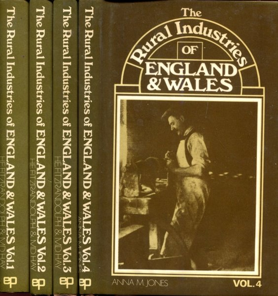 Image for The Rural Industries of England & Wales, a survey on behalf of the Agricultural Economics Research Institute, Oxford (four volumes)