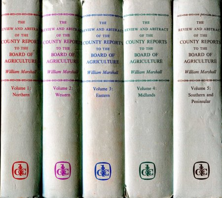 Image for The Review and Abstract of the County Reports to the Board of Agriculture from the several departments of England (five volumes)