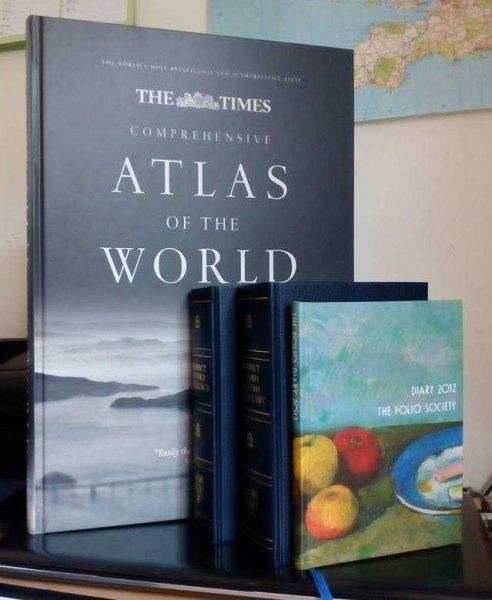 Image for The Times Comprehensive Atlas of the World [with] Folio Society Diary 2012 [with] Oxford Compact Thesaurus [with] Oxford Compact English Dictionary