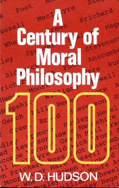 Image for A Century of Moral Philosophy