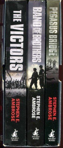 Image for World War II Heroes : Pegasus Bridge [with] The Victors [with] Band of Brothers (three volumes)