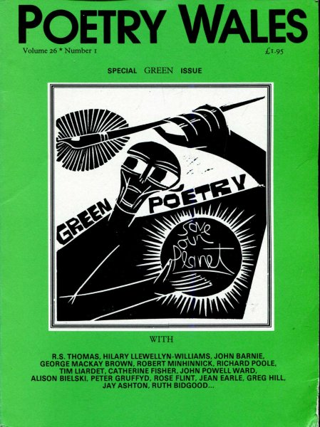 Image for Poetry Wales volume 26, Number 1, June 1990 : Green Poetry