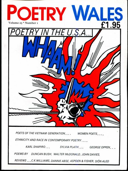 Image for Poetry Wales volume 25, Number 1, June 1989 : Poetry in the USA