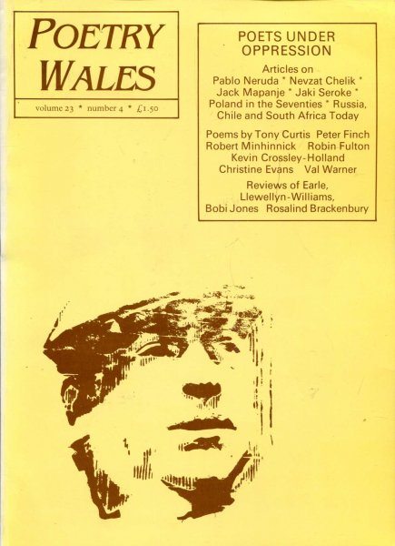Image for Poetry Wales volume 23, Number 4
