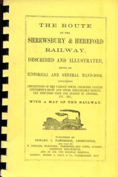 Image for The Route of the Shrewsbury & Hereford Railway