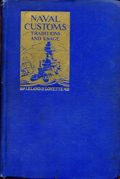 Image for Naval Customs Traditions and Usage