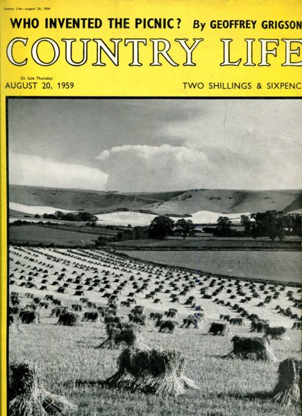 Image for Country Life volume CXXVI  No 3259, August 20 1959