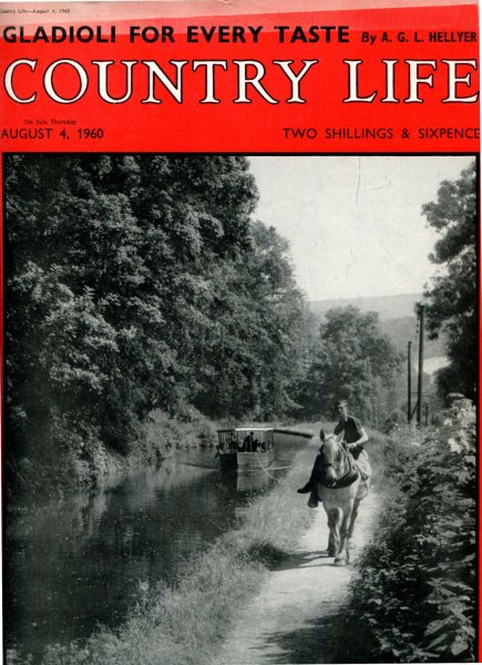 Image for Country Life volume CXXVIII  No 3309 August 4 1960